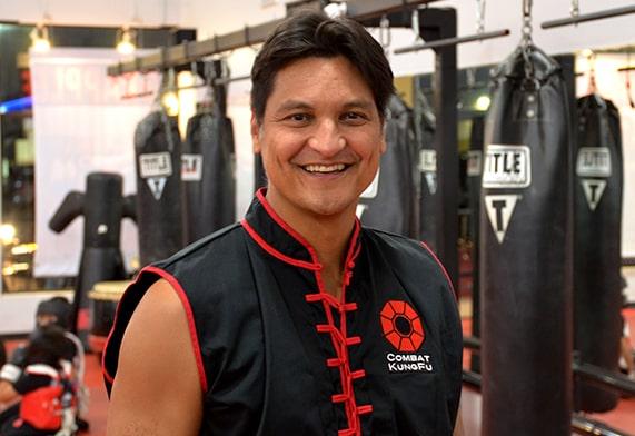 Image of Tai-Sifu Ben Stanley, one of Combat Kung-Fu's expert online self-defense instructors.