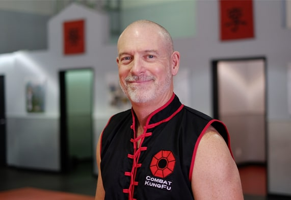 Image of Master Nathan Fisher, Founder of Combat Kung-Fu, one of America's expert online self-defense instructors.
