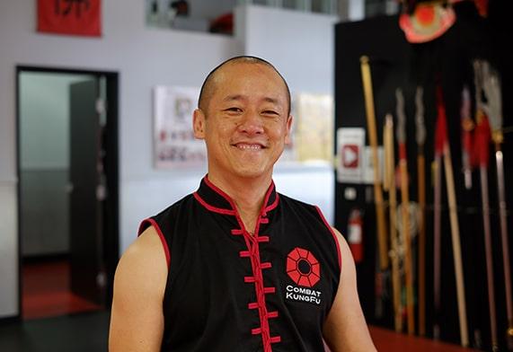 Image of Sifu Ming Lau, one of Combat Kung-Fu's expert online self-defense instructors.
